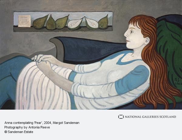 Margot Sandeman, Anna contemplating 'Pear'