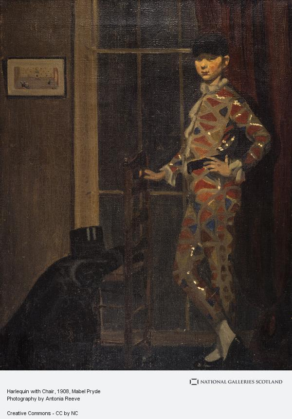 Mabel Pryde, Harlequin with Chair