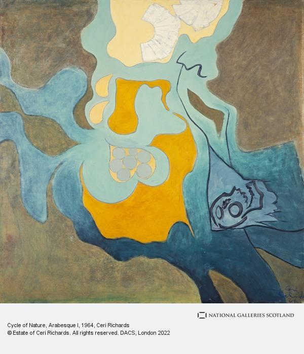 Ceri Richards, Cycle of Nature, Arabesque I