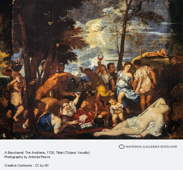 titian and bacchanal of the andrians art essay Legacy of spain in art of the new world  the bacchanal of the andrians, titian  [vecellio di gregorio tiziano] title the bacchanal of the andrians chronology .