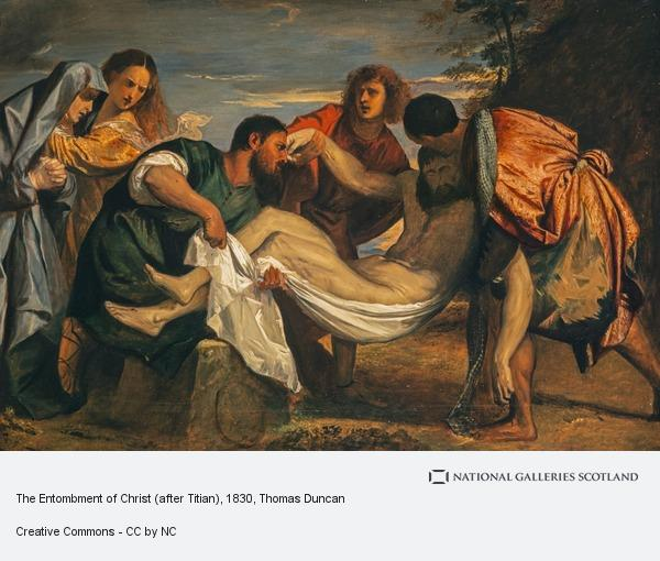 Thomas Duncan, The Entombment of Christ (after Titian)