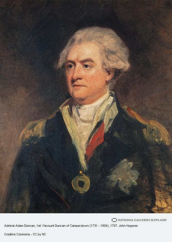 John Hoppner, Admiral Adam Duncan, 1st Viscount Duncan of Camperdown (1731 - 1804) (1797 - 1798)