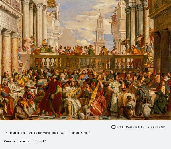 Thomas Duncan, The Marriage at Cana (after Veronese)