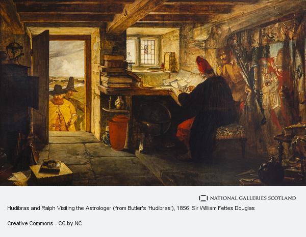 Sir William Fettes Douglas, Hudibras and Ralph Visiting the Astrologer (from Butler's 'Hudibras')