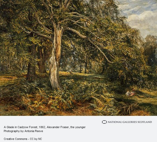 Alexander Fraser, the younger, A Glade in Cadzow Forest