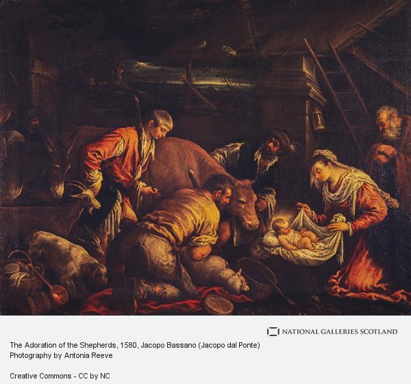 Jacopo Bassano, The Adoration of the Shepherds