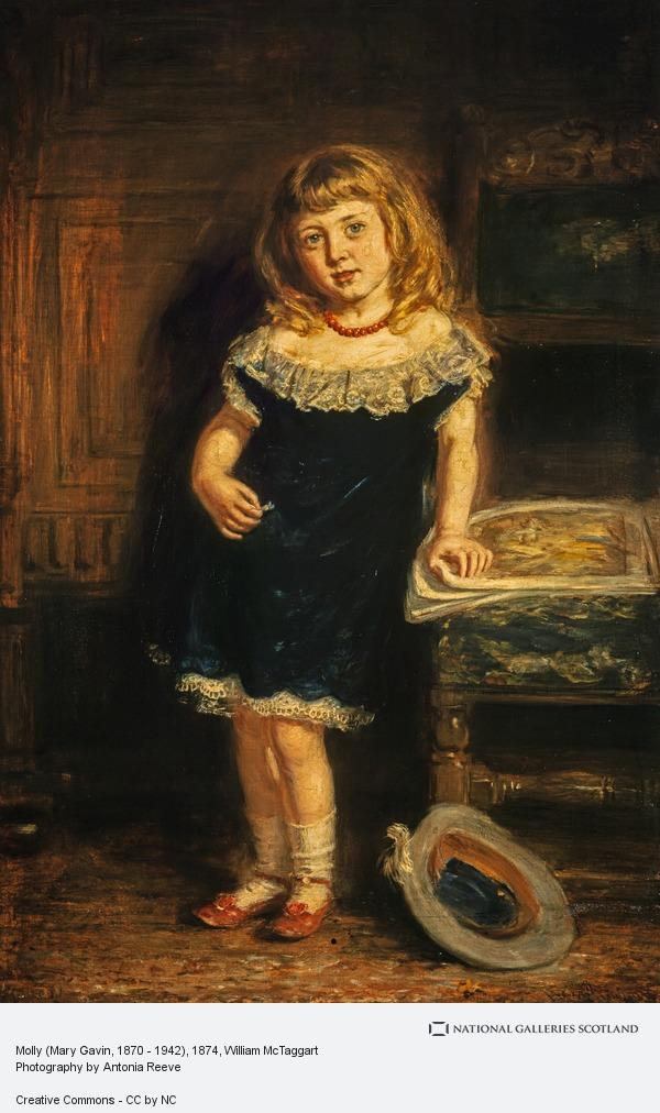 William McTaggart, Molly (Mary Gavin, 1870 - 1942)