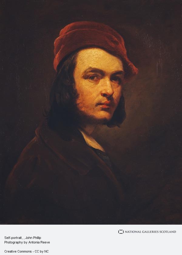 John Phillip, Self-portrait