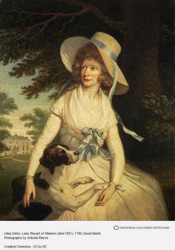 David Martin, Lilias Seton, Lady Steuart of Allanton (died 1821)