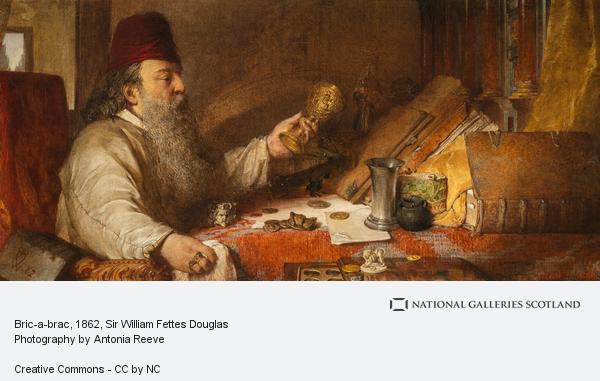 Sir William Fettes Douglas, Bric-a-brac