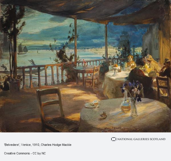 Charles Hodge Mackie, 'Belvedere', Venice