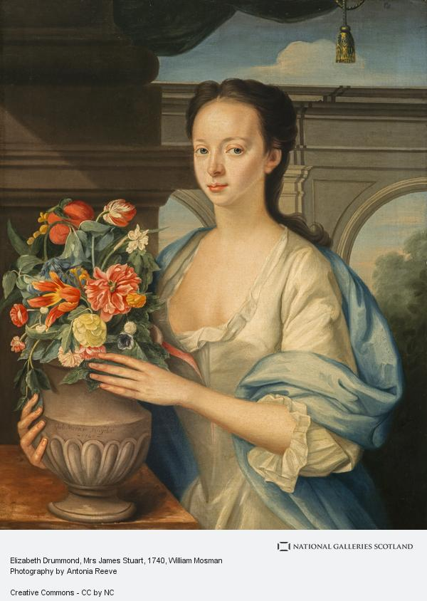 William Mosman, Elizabeth Drummond, Mrs James Stuart (Dated 1740)