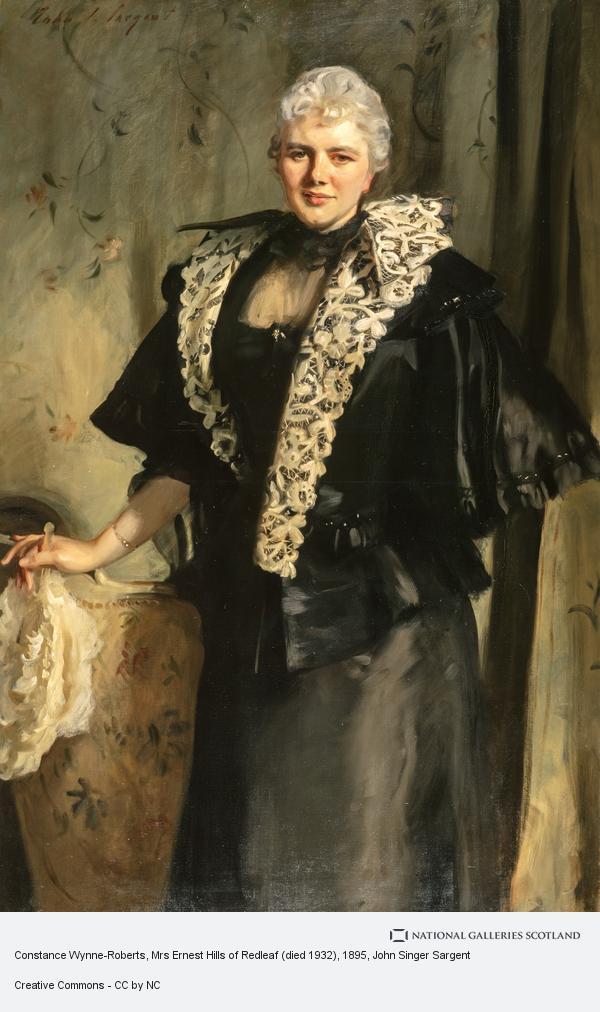 John Singer Sargent, Constance Wynne-Roberts, Mrs Ernest Hills of Redleaf (died 1932)