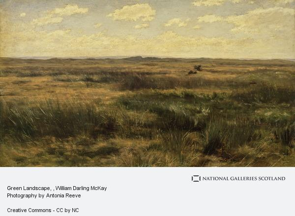 William Darling McKay, Green Landscape