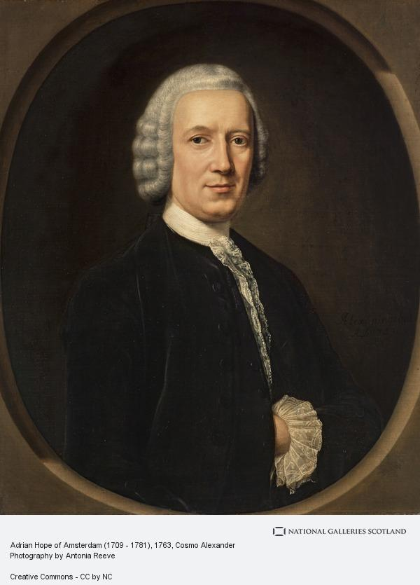 Cosmo Alexander, Adrian Hope of Amsterdam (1709 - 1781)