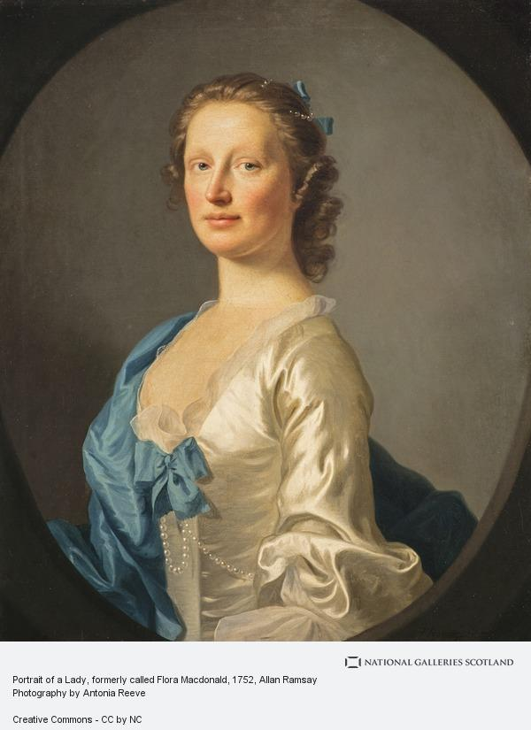 Allan Ramsay, Portrait of a Lady, formerly called Flora Macdonald