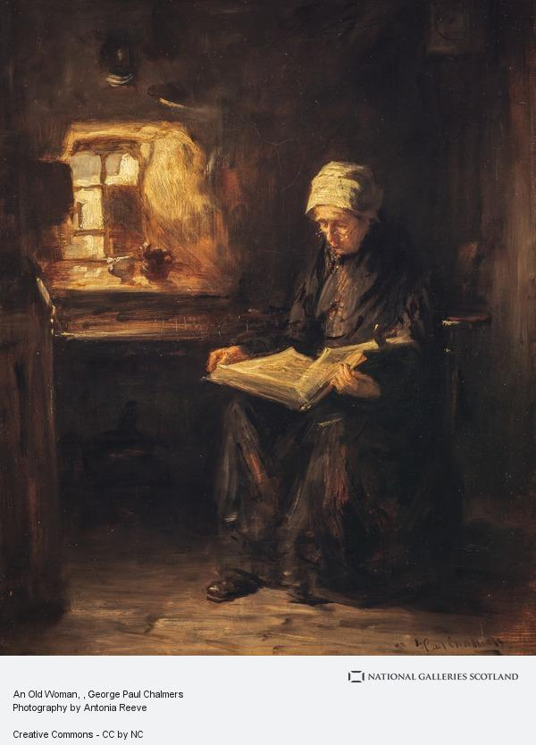 George Paul Chalmers, An Old Woman