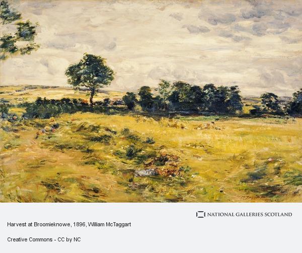 William McTaggart, Harvest at Broomieknowe