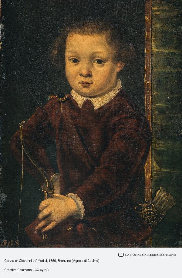 Bronzino (Agnolo di Cosimo), Garzia or Giovanni de' Medici