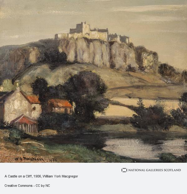 William York Macgregor, A Castle on a Cliff