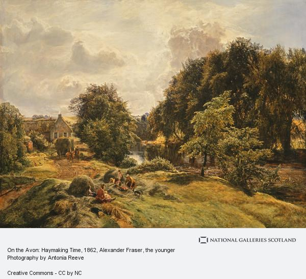 Alexander Fraser, the younger, On the Avon: Haymaking Time