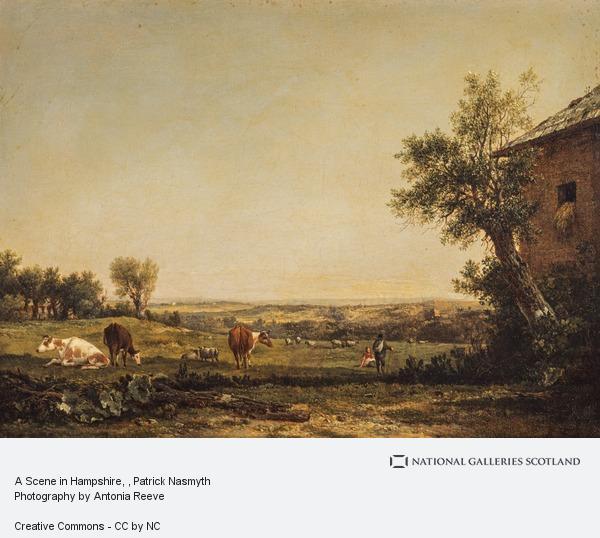 Patrick Nasmyth, A Scene in Hampshire