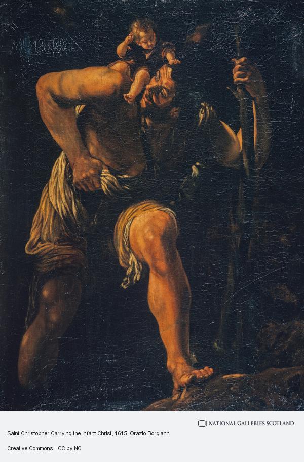 Orazio Borgianni, Saint Christopher (About 1615 - 1700)
