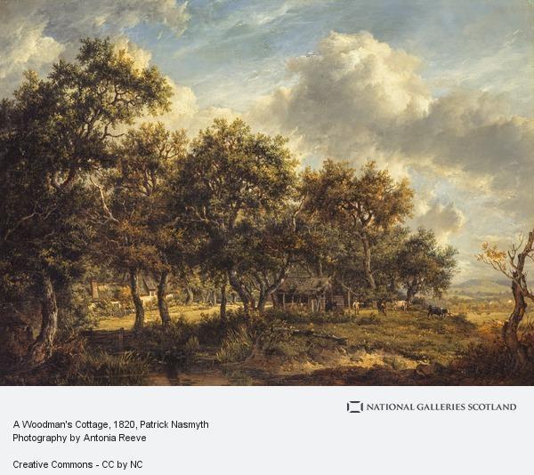 Patrick Nasmyth, A Woodman's Cottage