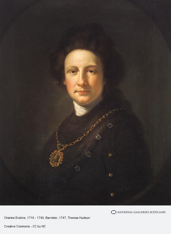 Thomas Hudson, Charles Erskine, 1716 - 1749. Barrister