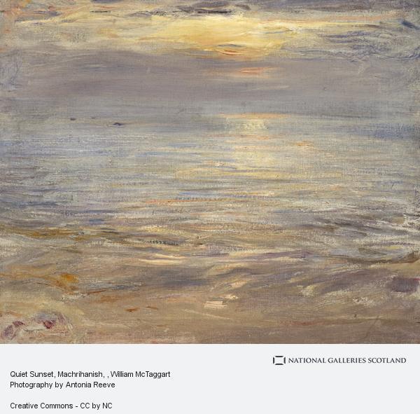 William McTaggart, Quiet Sunset, Machrihanish