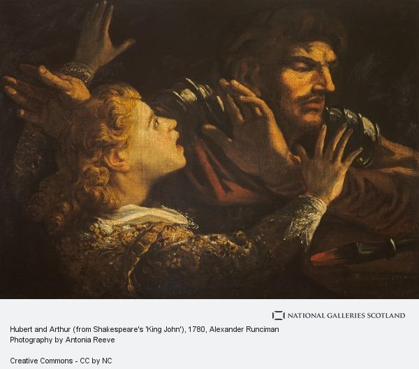 Alexander Runciman, Hubert and Arthur (from Shakespeare's 'King John')