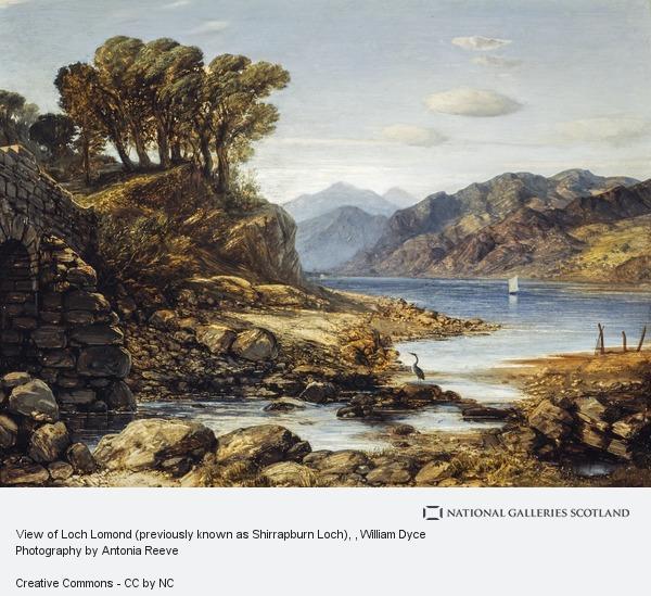 William Dyce, View of Loch Lomond (previously known as Shirrapburn Loch)