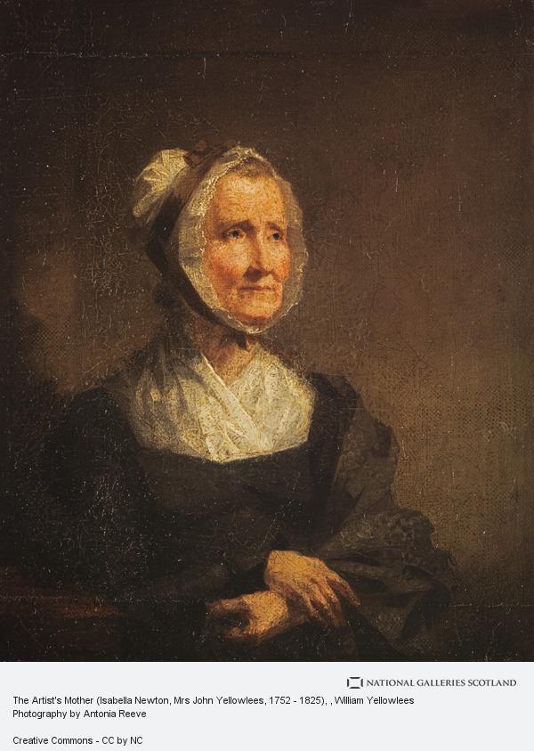 William Yellowlees, The Artist's Mother (Isabella Newton, Mrs John Yellowlees, 1752 - 1825)