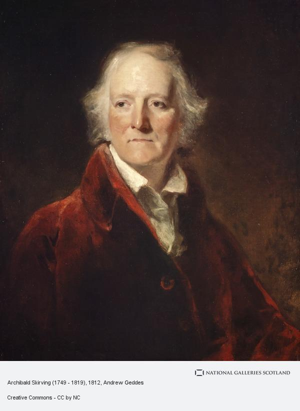 Andrew Geddes, Archibald Skirving (1749 - 1819)