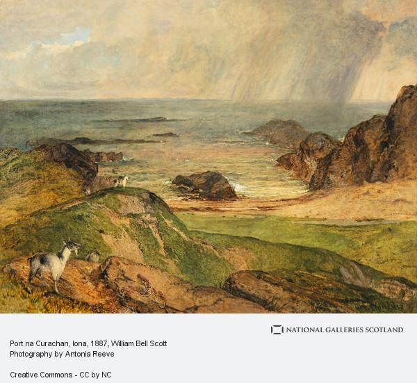 William Bell Scott, Port na Curachan, Iona