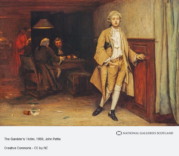 John Pettie, The Gambler's Victim