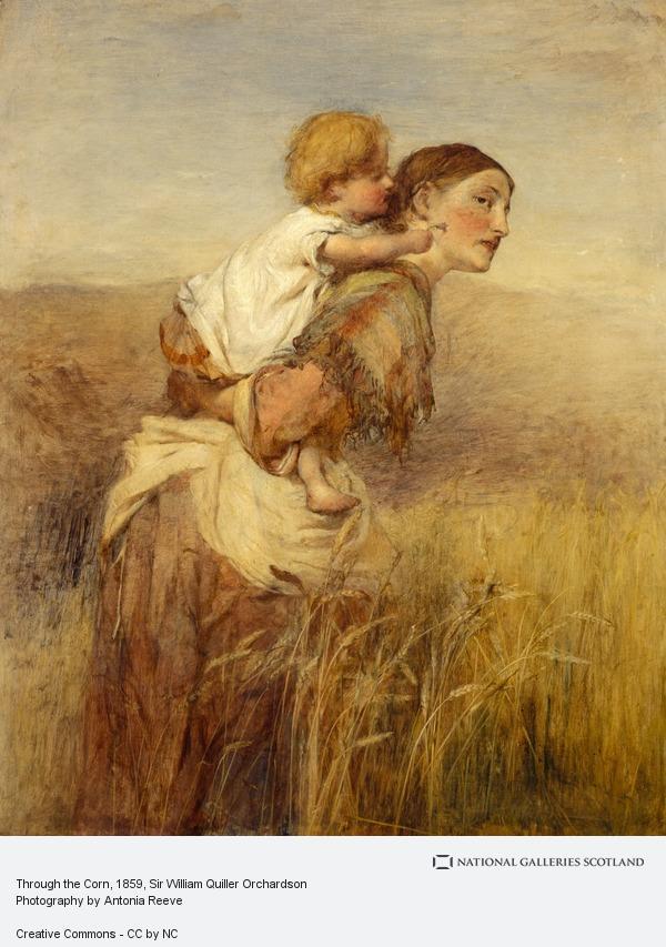 Sir William Quiller Orchardson, Through the Corn