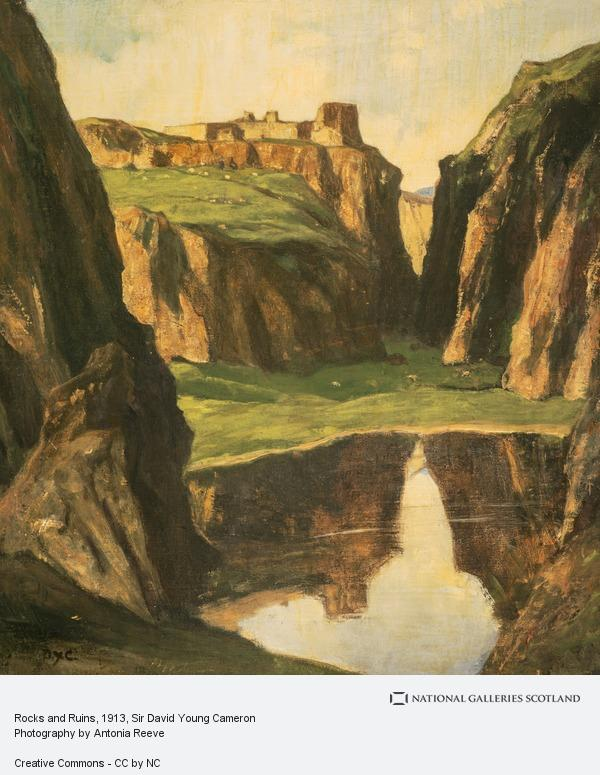 Sir David Young Cameron, Rocks and Ruins