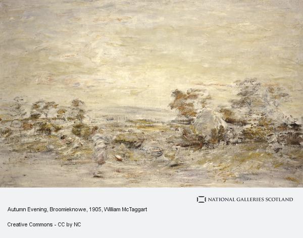 William McTaggart, Autumn Evening, Broomieknowe
