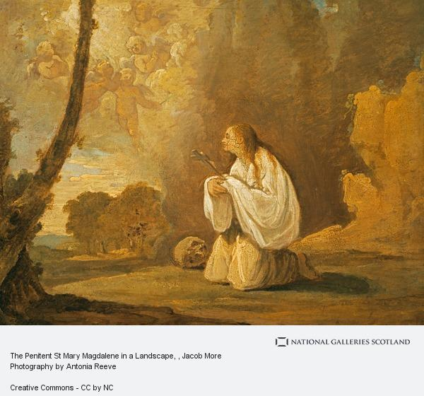 Jacob More, The Penitent St Mary Magdalene in a Landscape