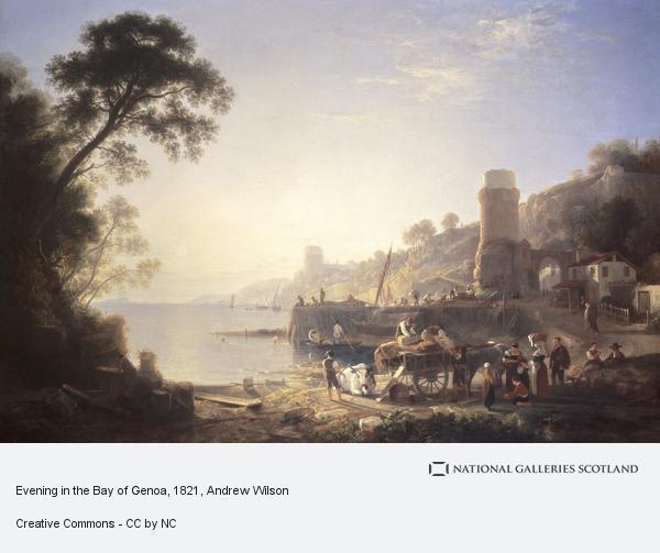 Andrew Wilson, Evening in the Bay of Genoa