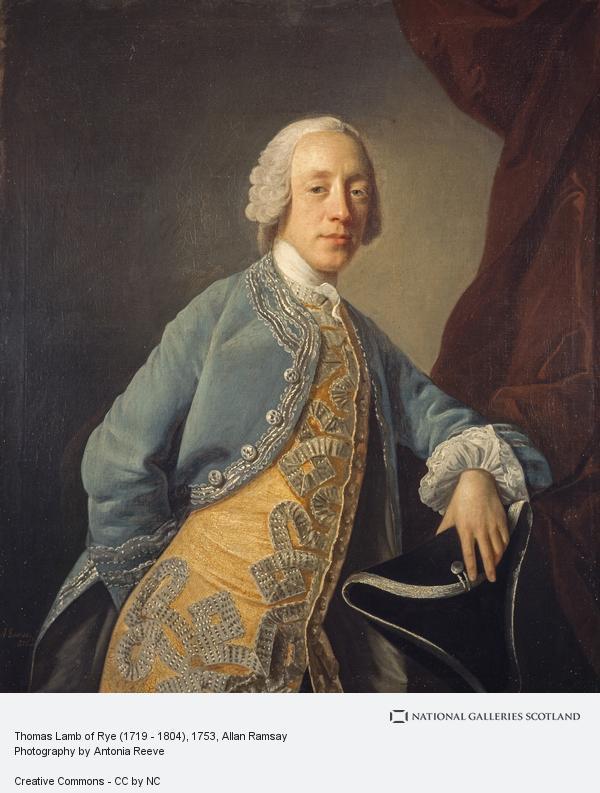 Allan Ramsay, Thomas Lamb of Rye (1719 - 1804)