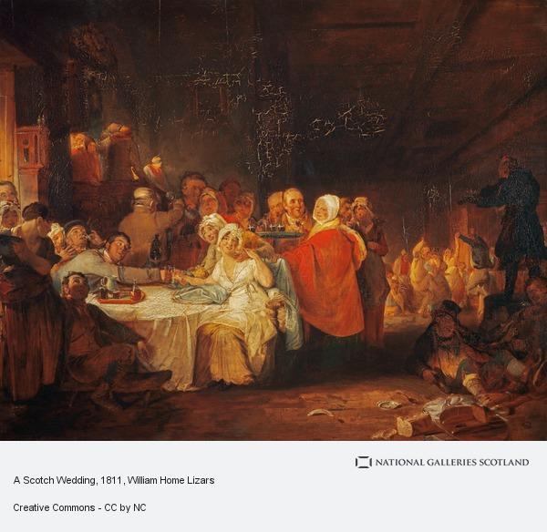 William Home Lizars, A Scotch Wedding