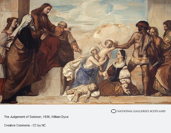 William Dyce, The Judgement of Solomon