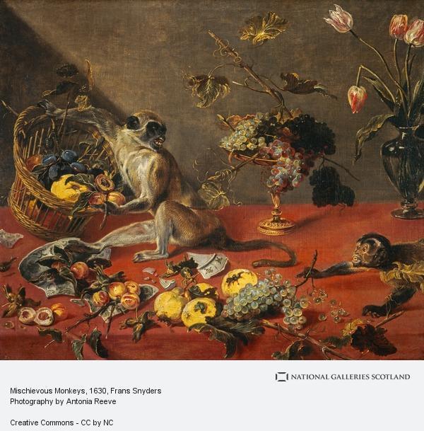 Frans Snyders, Mischievous Monkeys