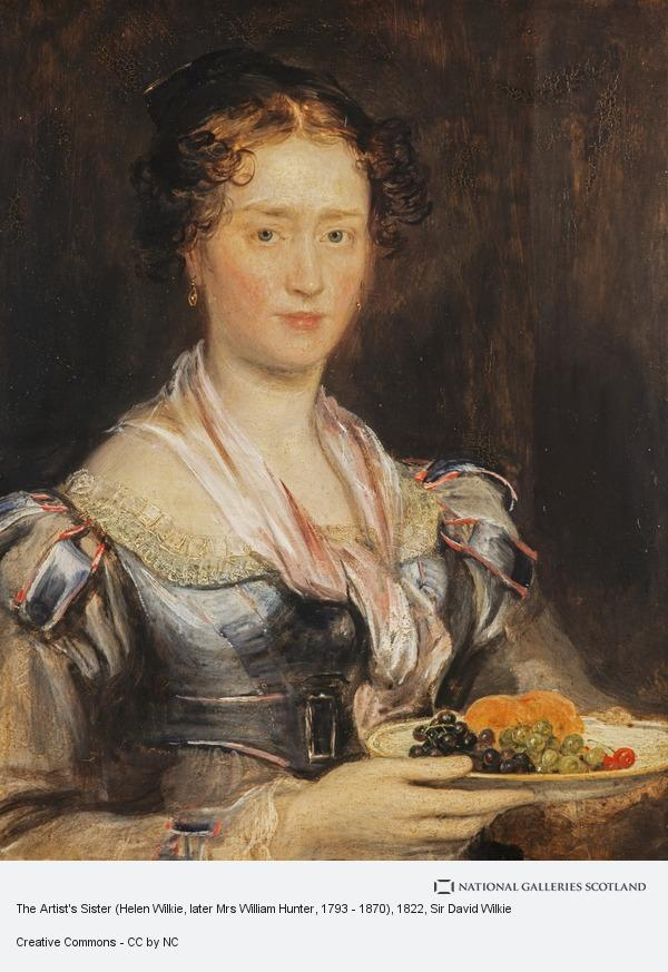 Sir David Wilkie, The Artist's Sister (Helen Wilkie, later Mrs William Hunter, 1793 - 1870)
