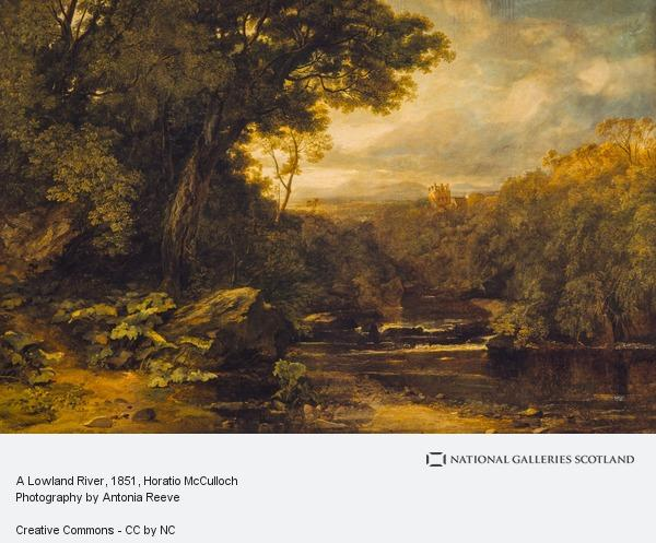 Horatio McCulloch, A Lowland River