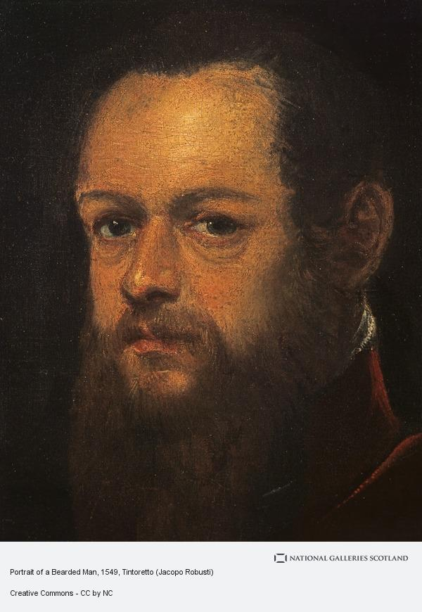 Tintoretto, Portrait of a Bearded Man