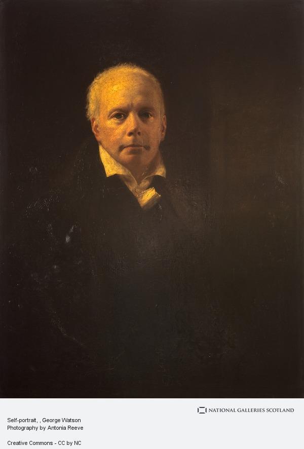 George Watson, Self-portrait