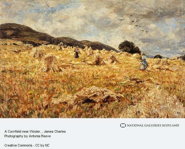 James Charles, A Cornfield near Wooler